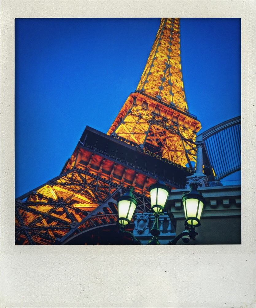 Eiffel in Vegas by Michel Bourquard