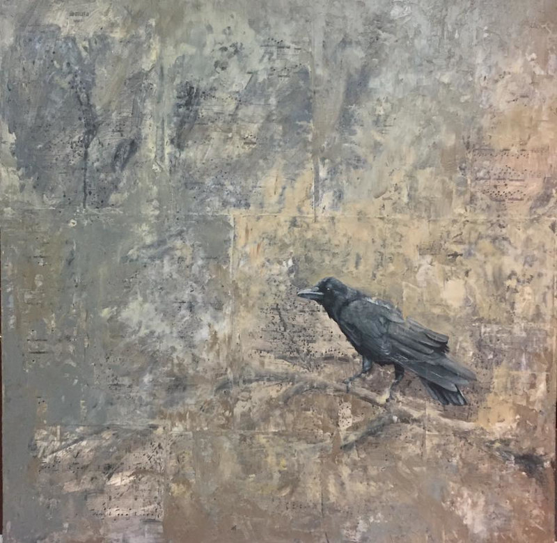 Crow_30x30 by Adam Thomas