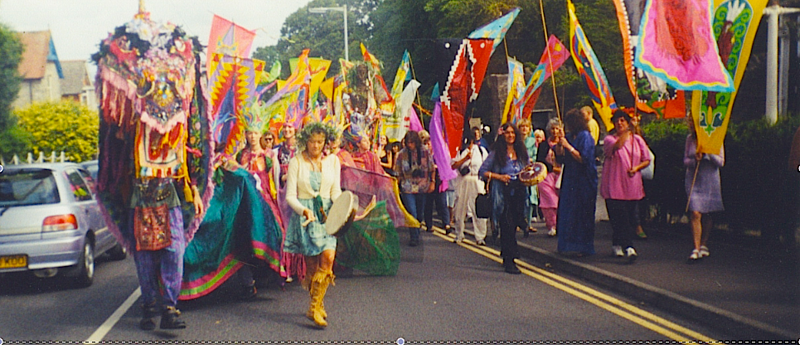 Glastonbury England Goddess Conference 2000-3 by Frederica  Hall