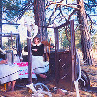 Tea at Hight noon @ Southwest Performance art festival  ... Flagstaff az by Frederica  Hall
