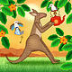 K is for Kangaroo and Kookaburras by Valerie Lesiak