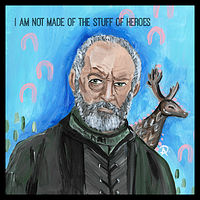 Acrylic painting Davos by Amber N Petersen