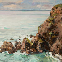 Oil painting Southern-Head by Kimberley Senior