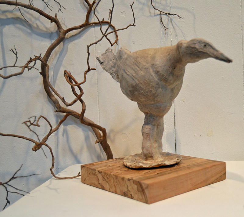 ceramic Bird by Dick Roberts