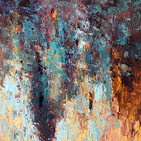 purpleandturquoise_40x30 by Adam Thomas