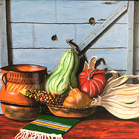 "Oil painting ""The Harvest"" by Gary Cheatham"