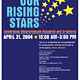 Catch A Rising Star Poster by Steve Ferris