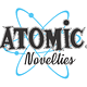 Atomic Novelties Logo by Steve Ferris