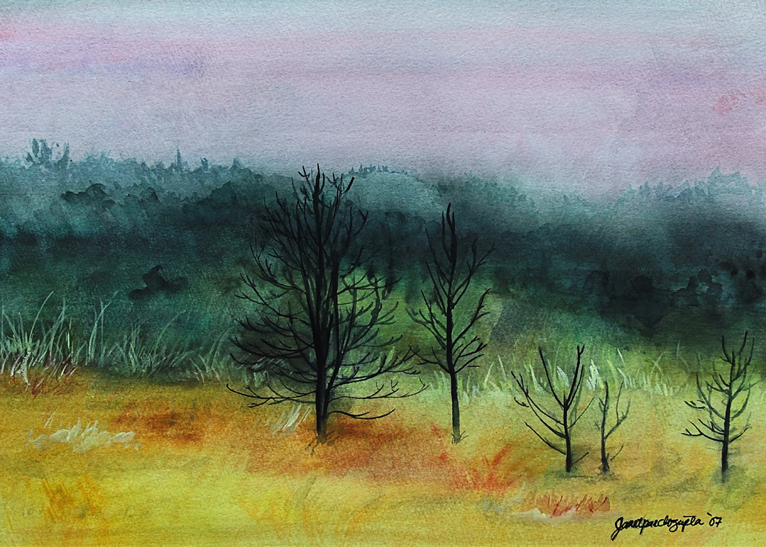 Watercolor Misty by Dianne Jane Gupta