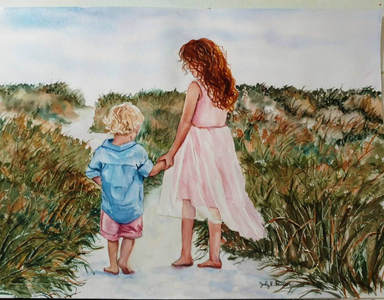 """Path to the Sea"" by Judy Fowler"