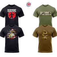 MILITARY STYLE T-Shirts by Steve Ferris