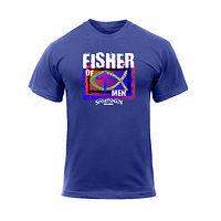 Fisher Of Men Sportsman T-Shirt by Steve Ferris