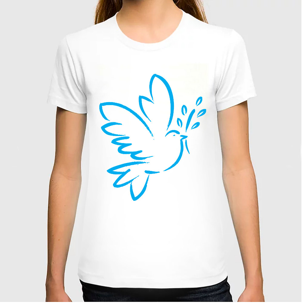 Womans Dove T by Steve Ferris
