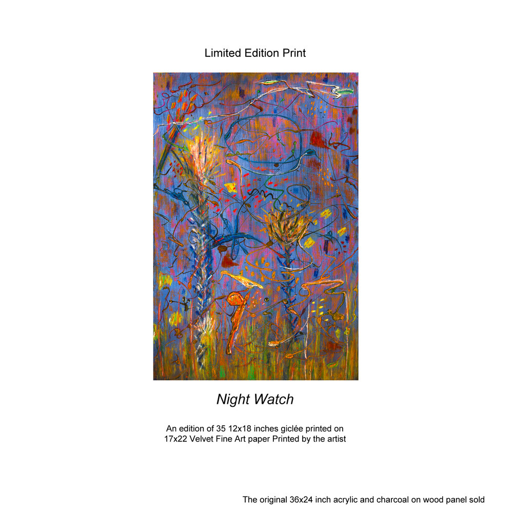Print Night Watch Limited Edition Prints by Edward Bock