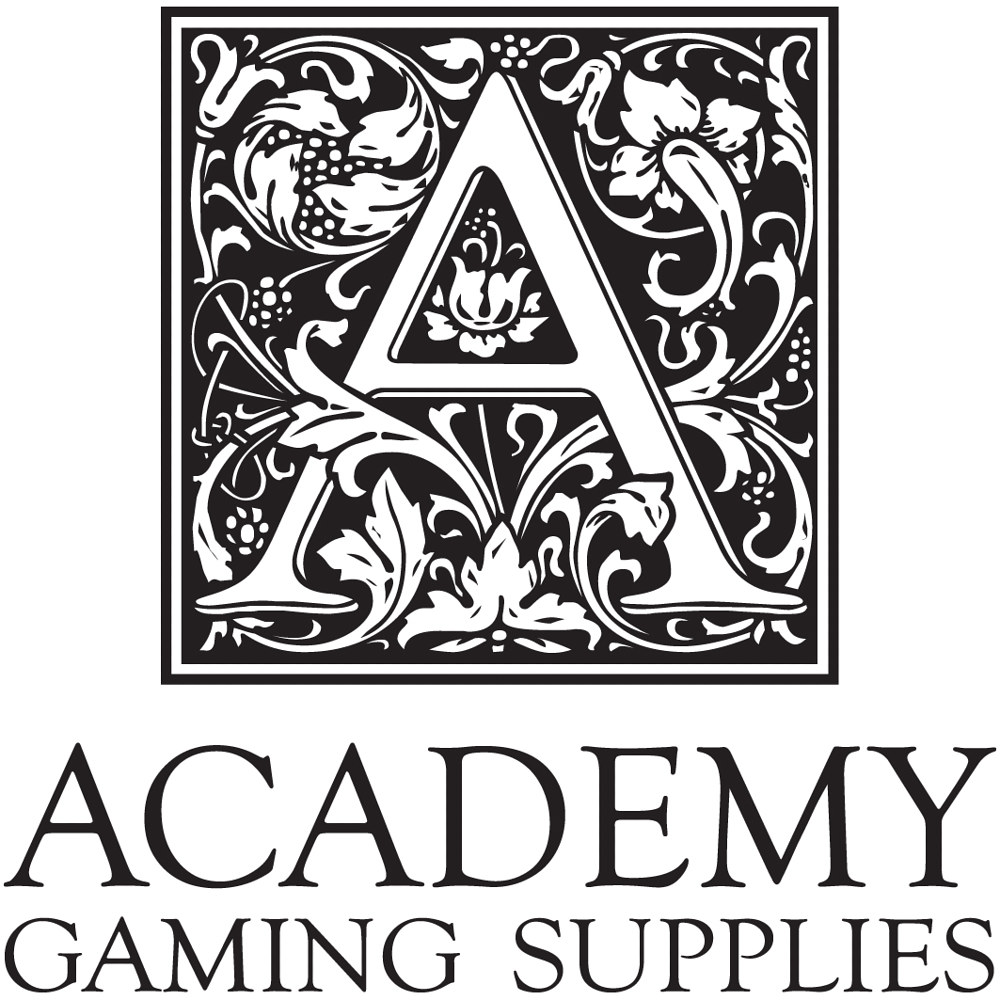 Academy Gaming Supplies Logo by Steve Ferris