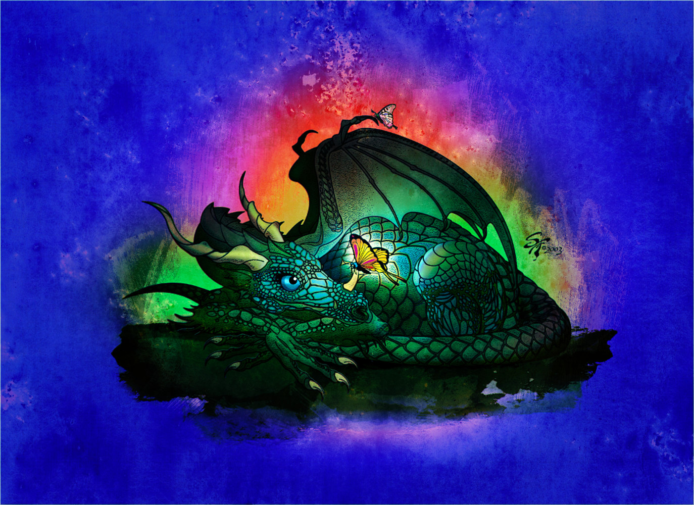Children's Dragon by Steve Ferris