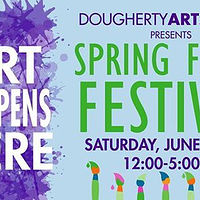 Art Happens Here Spring Fling!  by Kelly Schafer