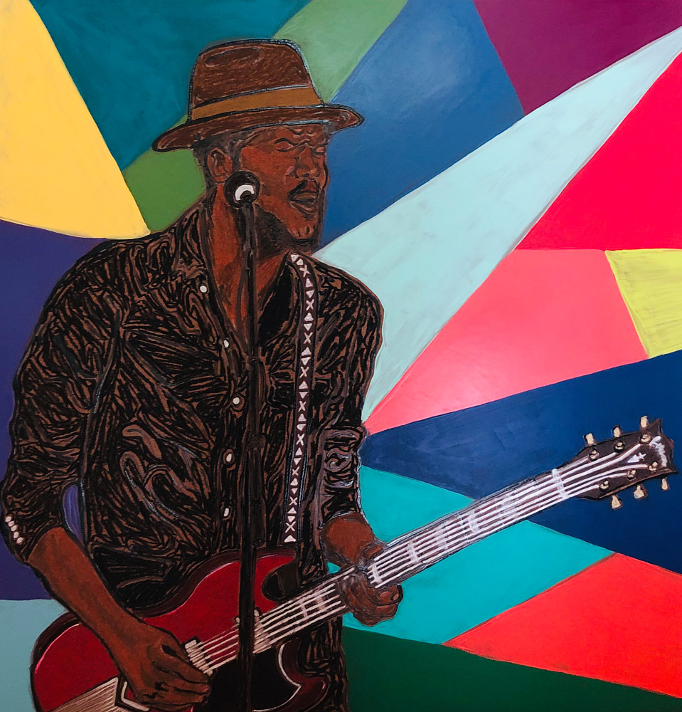Print Gary Clark Jr.  by Kelly Schafer