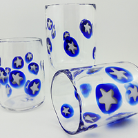 Starry Tumblers by Joanne Andrighetti