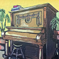 Vose and Sons piano by Melissa Kenyon Mcintyre