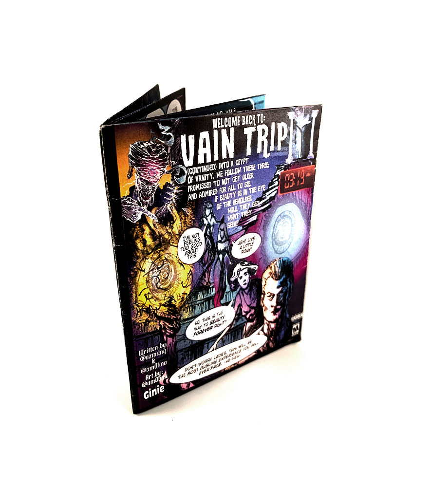 Vain Trip II book by Adrian Molina