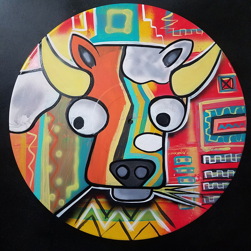 Painting Bovine  by Isaac Carpenter