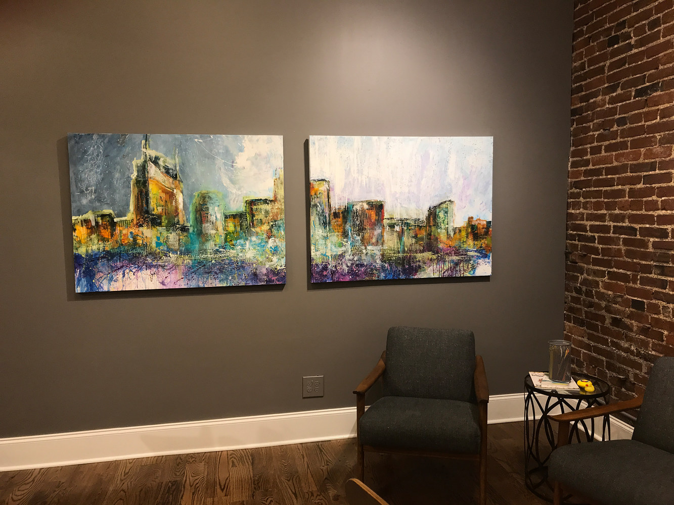 Nashville Art Crawl  by Catron Wallace
