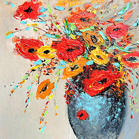 Bouquet from Red and Yellow. by Svetlana Barker