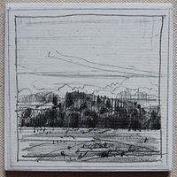 Drawing Don's Hill, Evening   by Harry Stooshinoff
