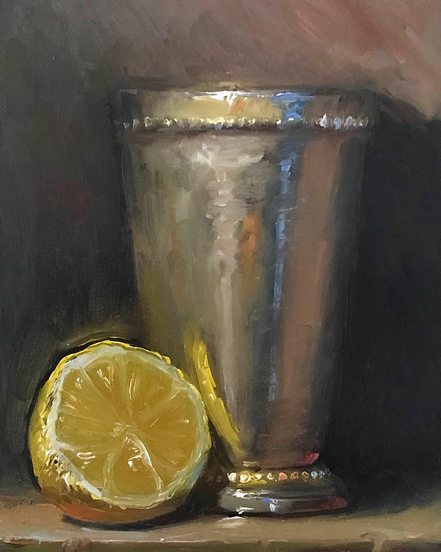 """Lemon & Silver Cup"" by Noah Verrier"