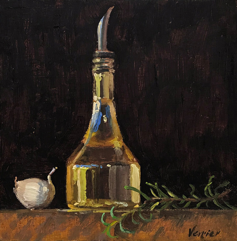 """Oil, Garlic & Herbs"" by Noah Verrier"