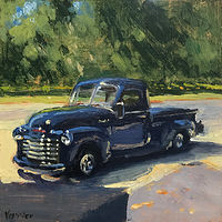 "Print ""53' Chevy"" by Noah Verrier"
