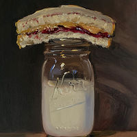 """PBJ & Kerr Jar of Milk"" by Noah Verrier"