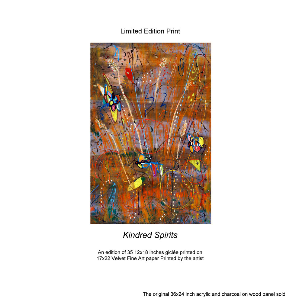 Print Kindred Spirits Limited Edition Prints by Edward Bock