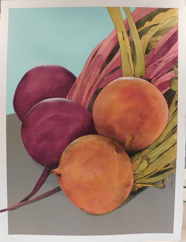 Acrylic painting Beets me   by Reed Dixon
