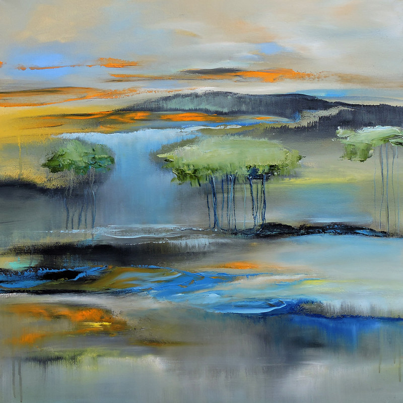 Oil painting Land Personalities. by Svetlana Barker