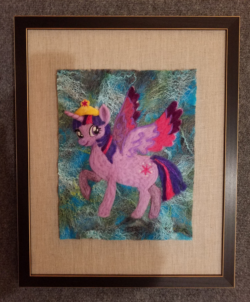 Twilight Sparkle by Valerie Johnson