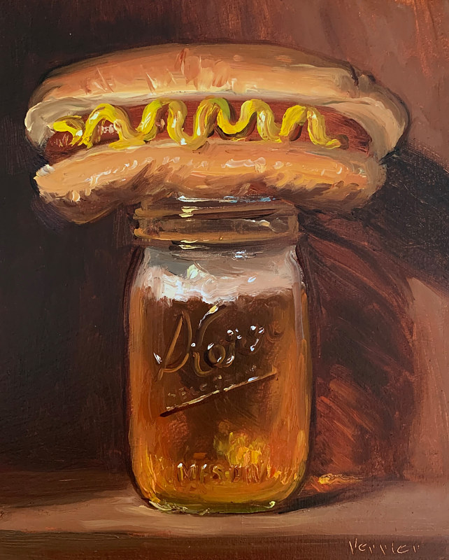 """Beer & Hotdog""  by Noah Verrier"