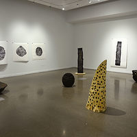 Sculpture Contours of Time - Installation view at The Gallery at Casa by Troy Nickle