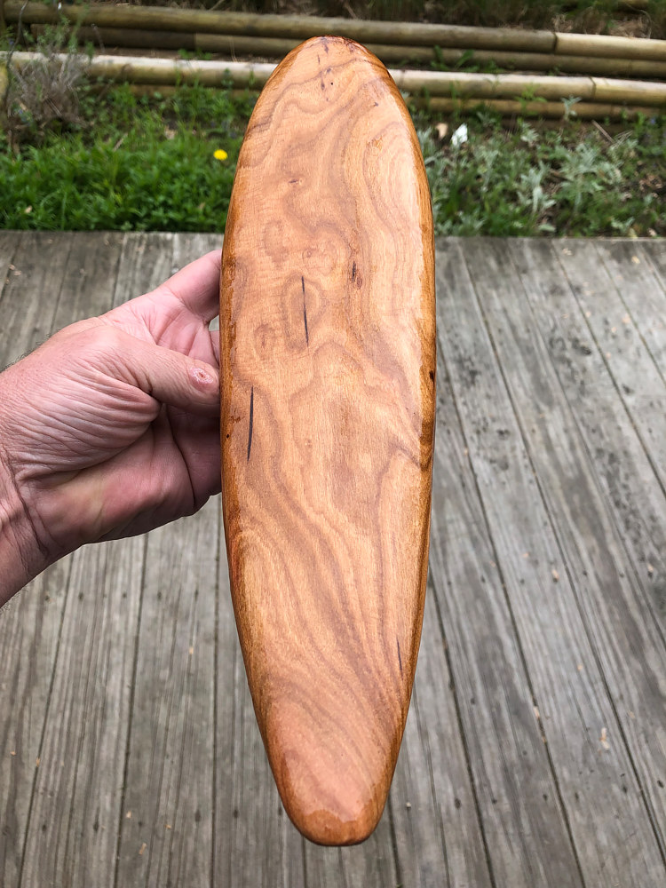 Mini Cherry Surfboard by Steven Simmons