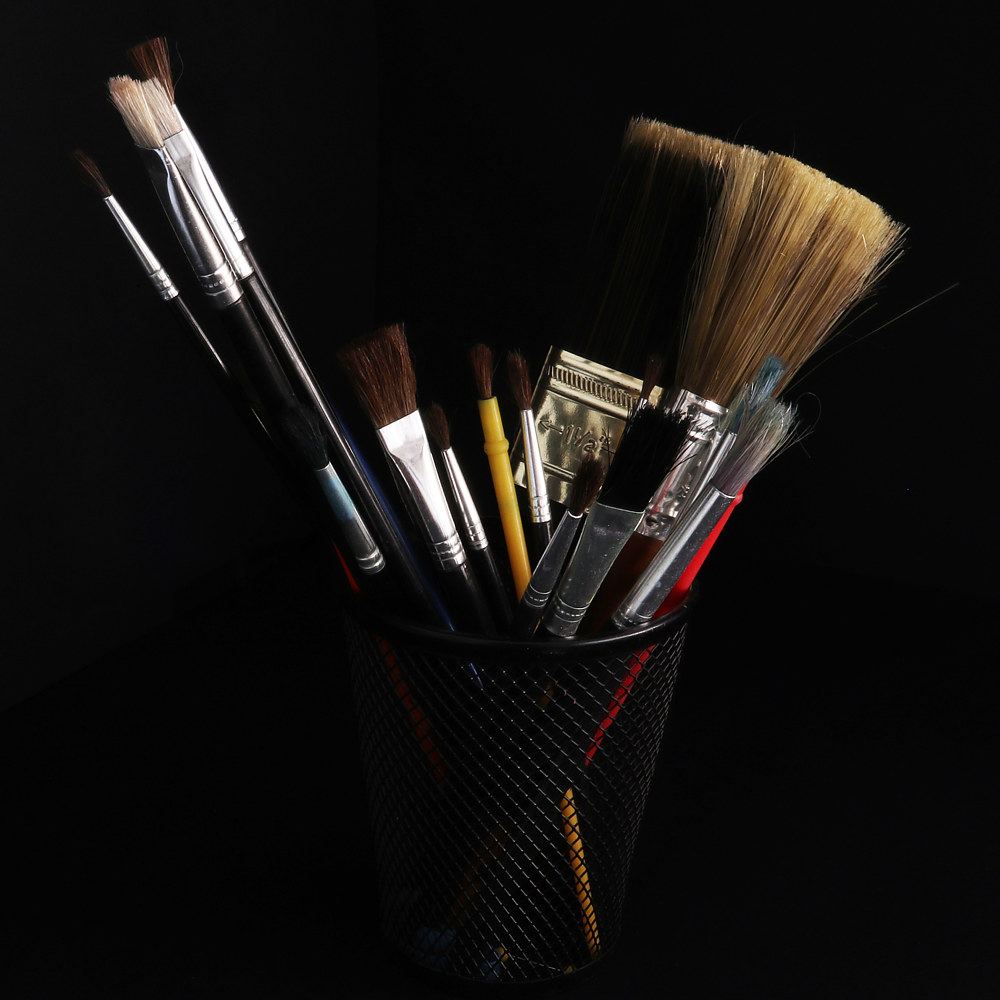 1511 - BRUSHES - web  by Sharon Blake Edgar