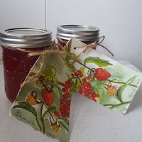 Painting Raspberry Red Currant Jelly Gifts by Sarah Peschell