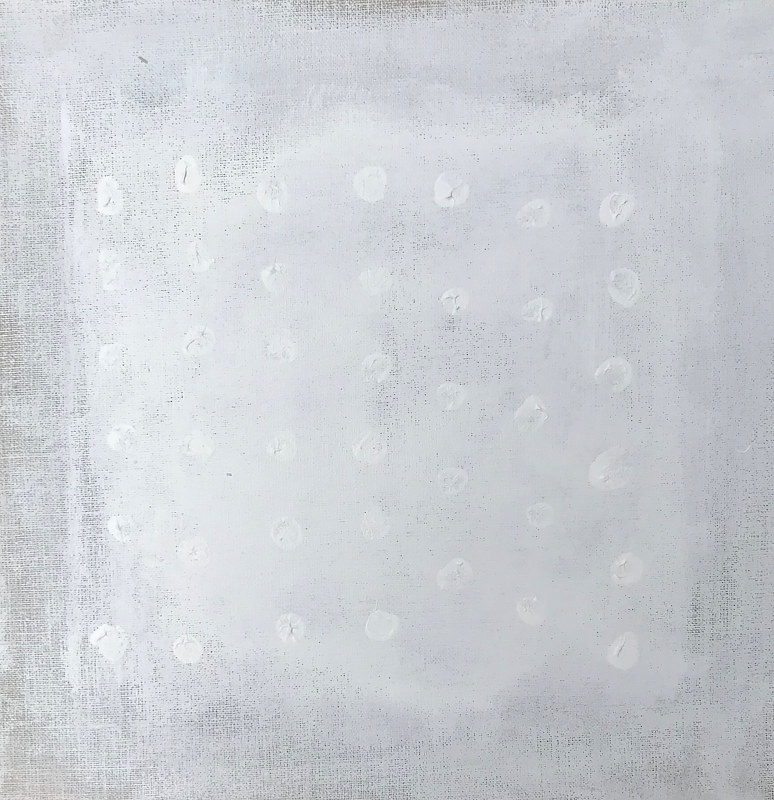 Acrylic painting Polka by Sarah Trundle