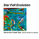 Painting Star Fall Evolution Invite Card by Edward Bock