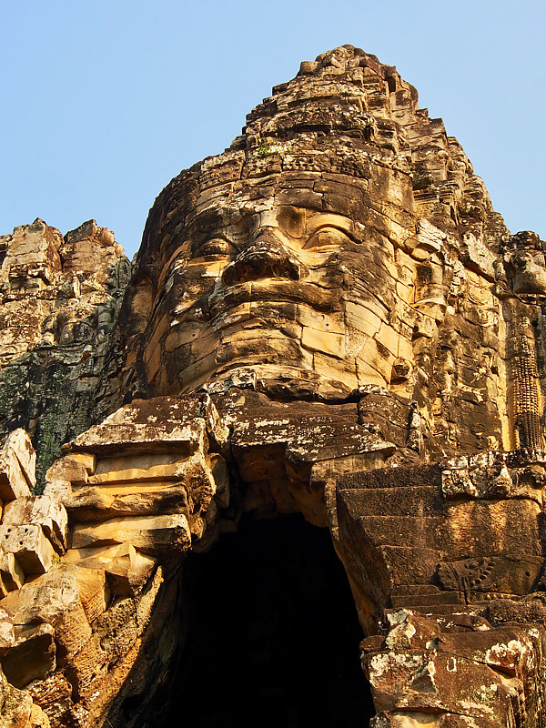 Temple of Face 4 - Cambodia by Ann Williams