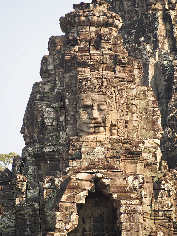 Temple of Faces 2 - Cambodia by Ann Williams