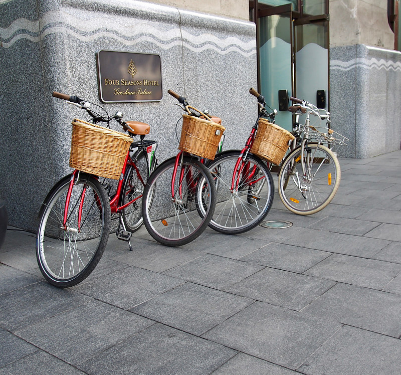 Four Seasons Bikes by Ann Williams