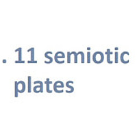 Intro - 11 Semiotic Plates by Hunter Madsen