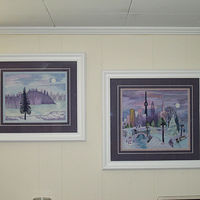 Lavender Scenes displayed together by Mary Lee Chisholm-morgan