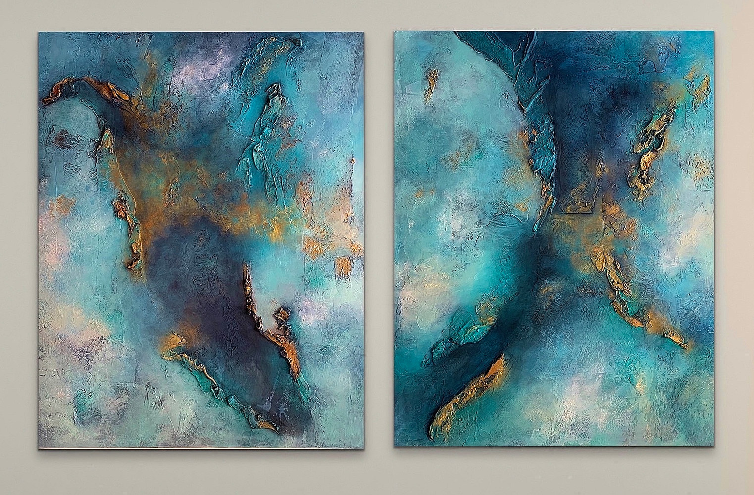 Angels in Disguise I & II by Ginger Thomas